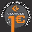 Entreprise Georges, Mauges sur Loire, est partenaire Isolation à 1 euro